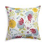 "Cottage Garden 20"" Sq. Floral Outdoor Pillow"