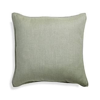 "Sunbrella ® Fern Green 20"" Sq. Outdoor Pillow"