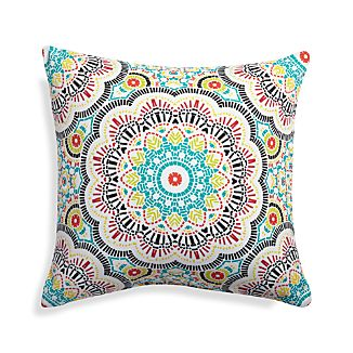"Kaleidoscope 20"" Sq. Outdoor Pillow"