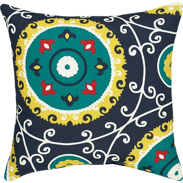 """Laurel 20"""" Sq. Outdoor Pillow"""