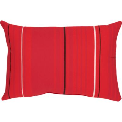 Sunbrella® Red Tonal Stripe 20