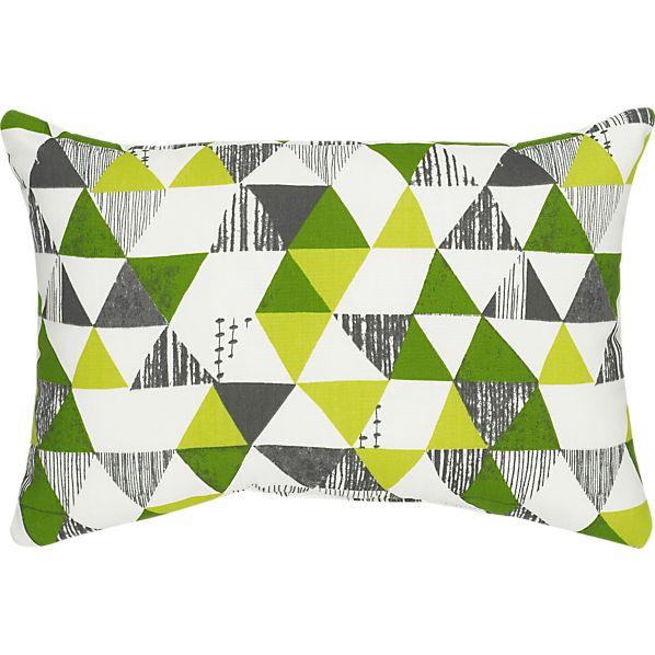 """Zane 20""""x13"""" Outdoor Pillow"""