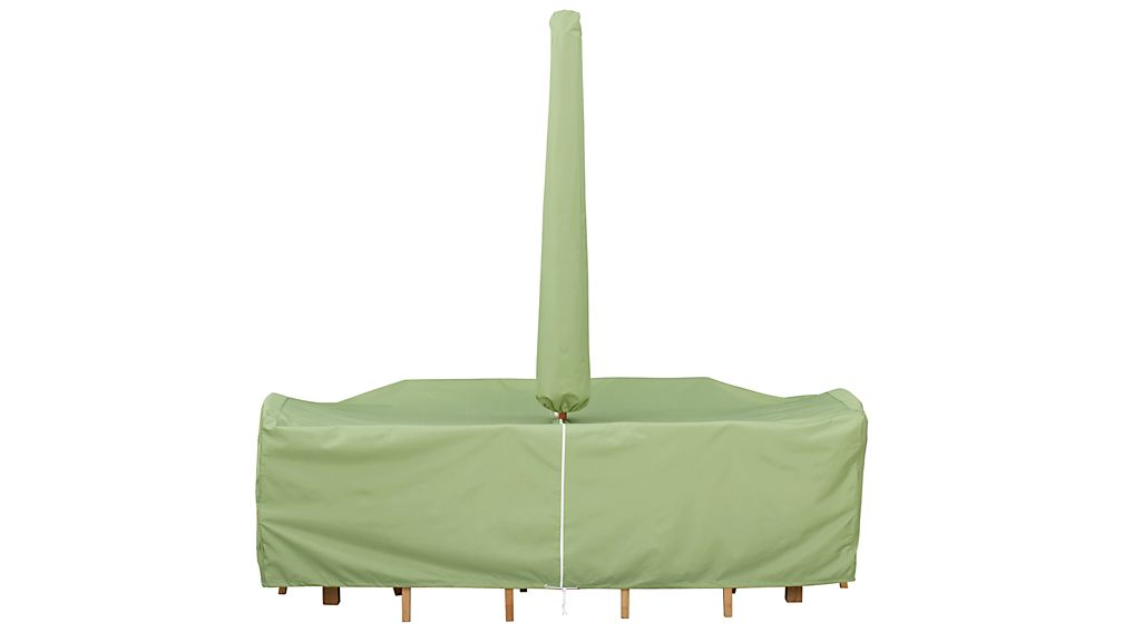Small Rectangular Table and Chair Outdoor Furniture Cover