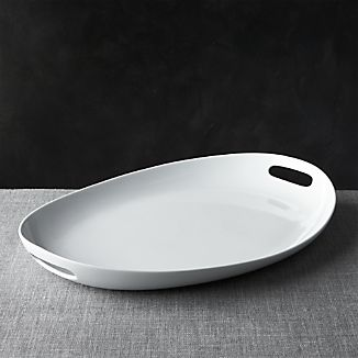 Oval Platter with Handles
