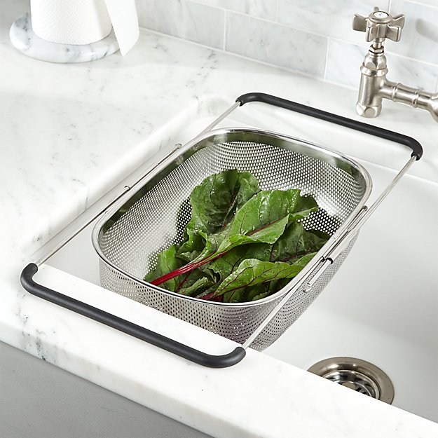 Over-The-Sink Mesh Colander