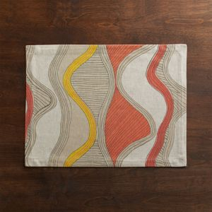 Oxbow Orange Placemat