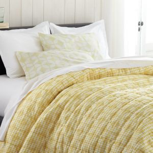 Oxford Yellow King Quilt