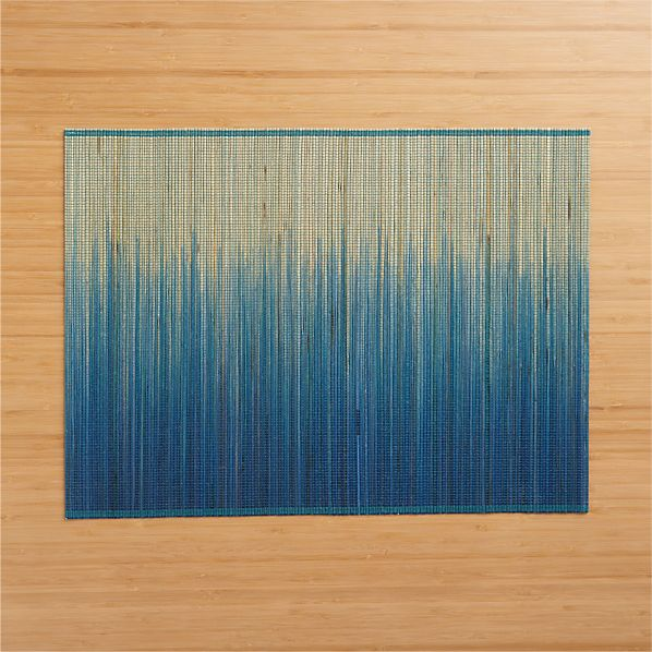 Oxley Blue Placemat