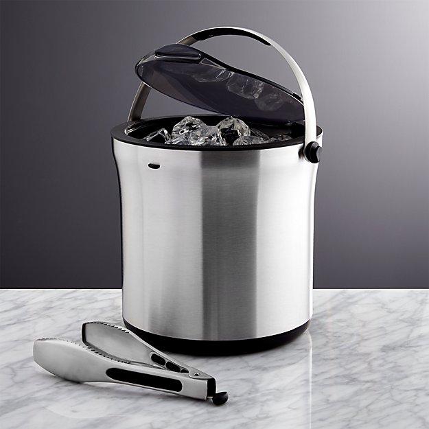 OXO ® Ice Bucket with Tongs