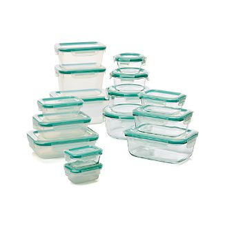 OXO ® Snap 30-Piece Glass/Plastic Storage Set