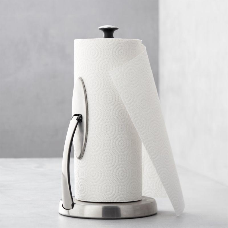 OXO ® Spring Arm Paper Towel Holder