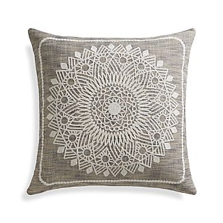 "Padilla 23"" Pillow with Feather-Down Insert"