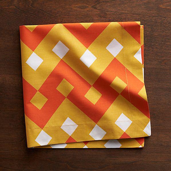 Palace Orange Napkin