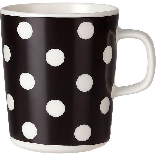 Marimekko Pallo Black and White Mug