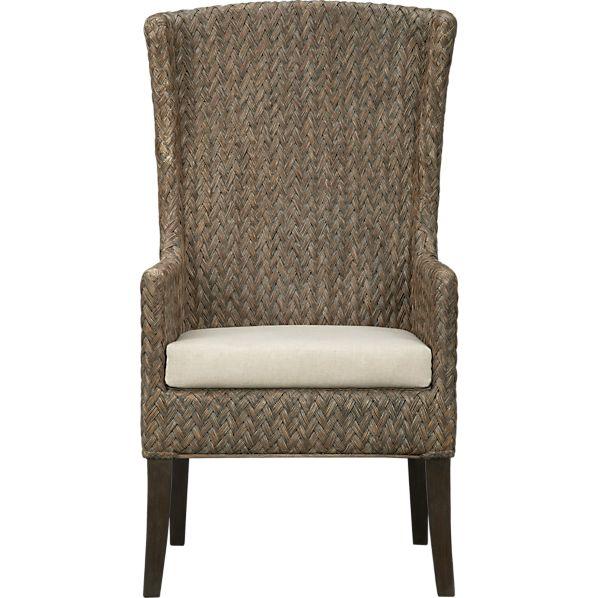 Palmetto II Arm Chair with Cushion