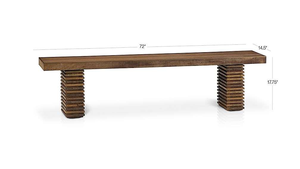 Paloma I Bench Crate And Barrel