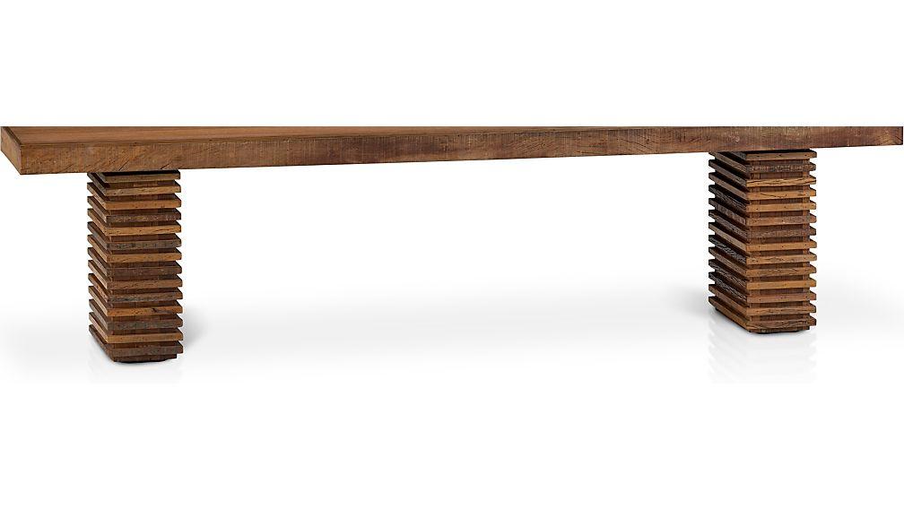 Paloma II Reclaimed Wood Bench