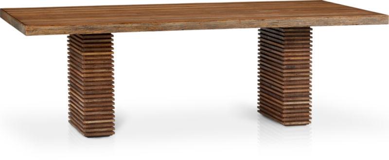 Folio Granite Grey Top-Grain Leather Dining Chair