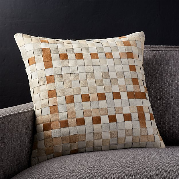 """Palone 18"""" Pillow with Down-Alternative Insert"""
