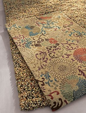 Gianni Rust Hand Knotted Wool Rug