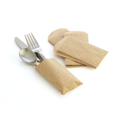 Set of 12 Paper Utensil Bags