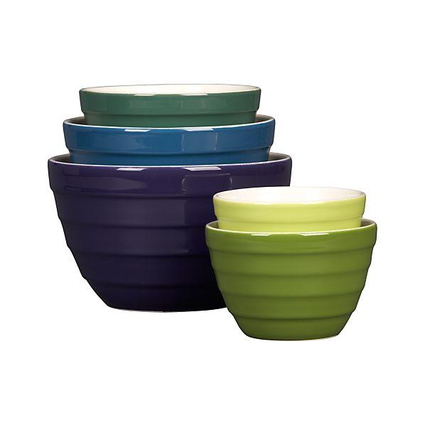 "5-Piece Parker 5.5""-9.5"" Nesting Bowl Set"