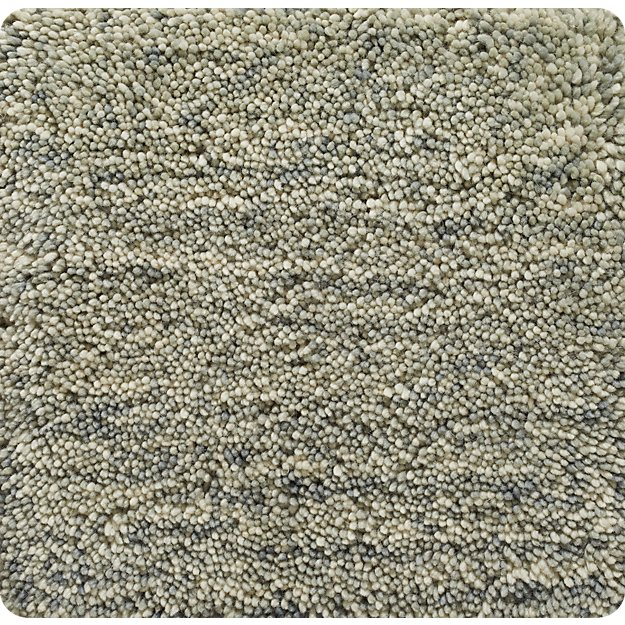 "Parker Dove Grey Wool 12"" sq. Rug Swatch"