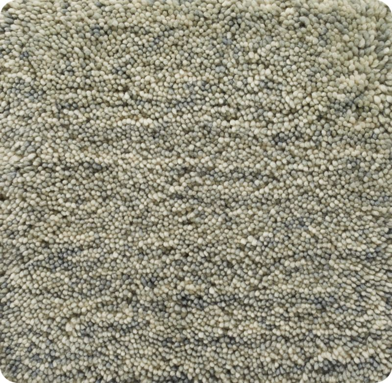 """Parker Dove Grey Wool 12"""" sq. Rug Swatch"""