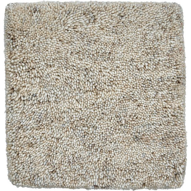 "Parker Neutral Wool 12"" sq. Rug Swatch"