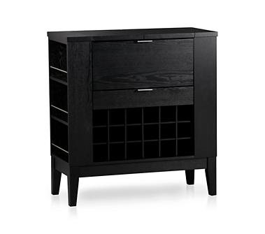 Wooden wine cabinet - Parker Spirits Cabinet from Crate&Barrel