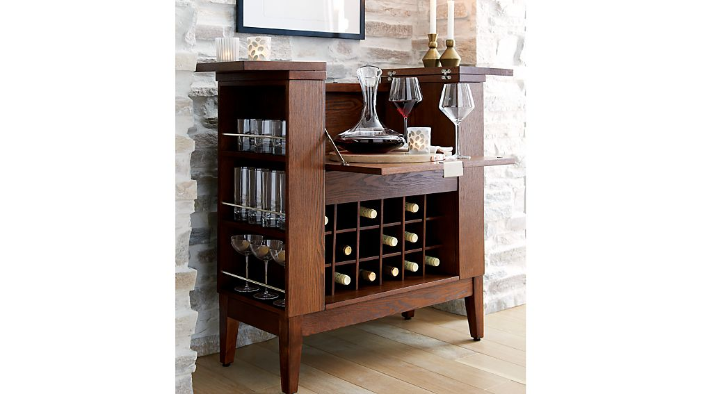 parker spirits ebony cabinet 2
