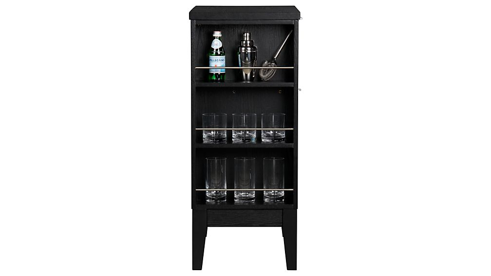 Parker Spirits Ebony Cabinet Crate And Barrel