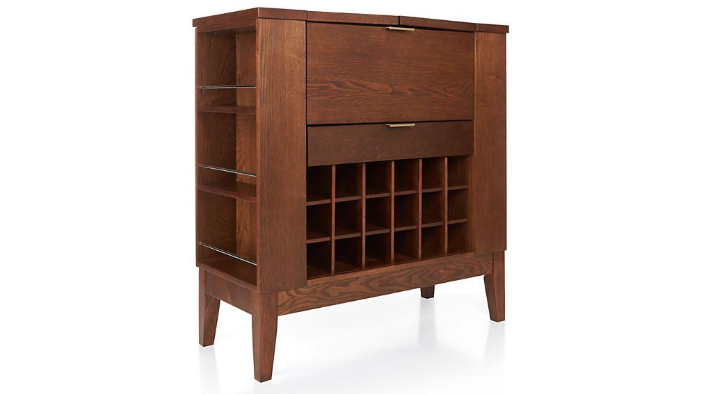 Parker Spirits Bourbon Cabinet Crate And Barrel