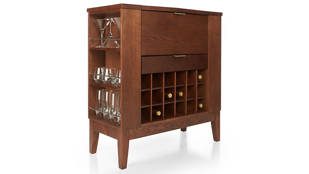 Parker Spirits Bourbon Cabinet Crate And Barrel