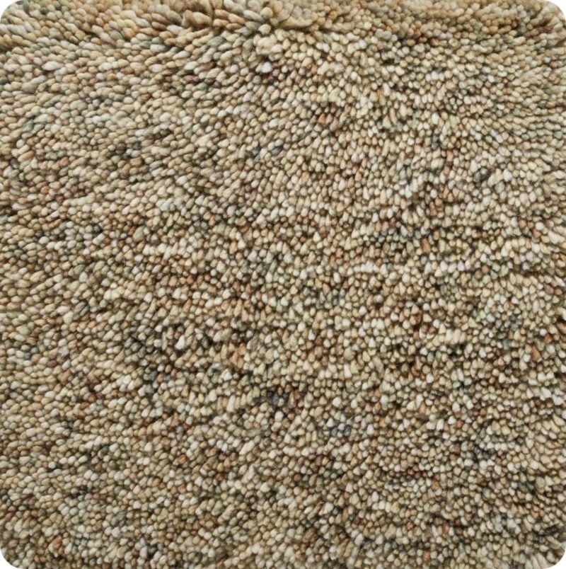 """Parker Tea Brown Wool 12"""" sq. Rug Swatch"""