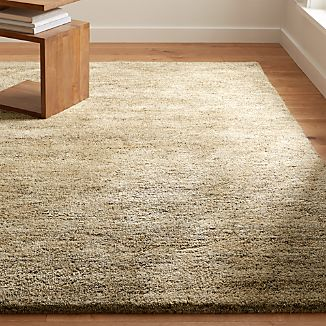 Parker Tea Brown Wool Rug