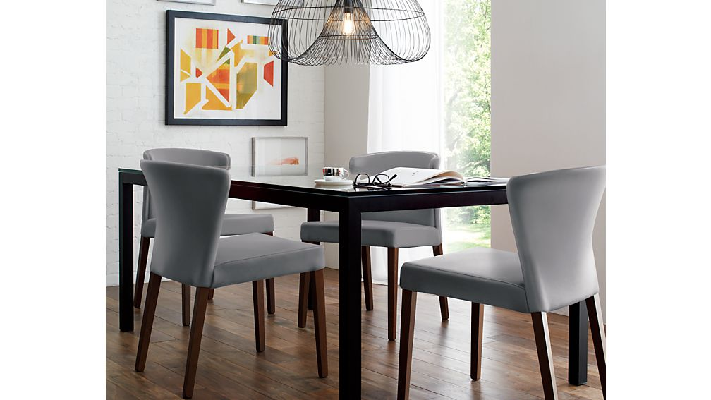 Rounded Back Kitchen Dining Chair