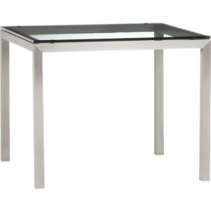 Glass Top/ Stainless Steel Base 36