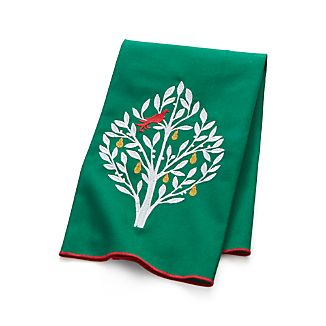 Partridge in a Pear Tree Dish Towel