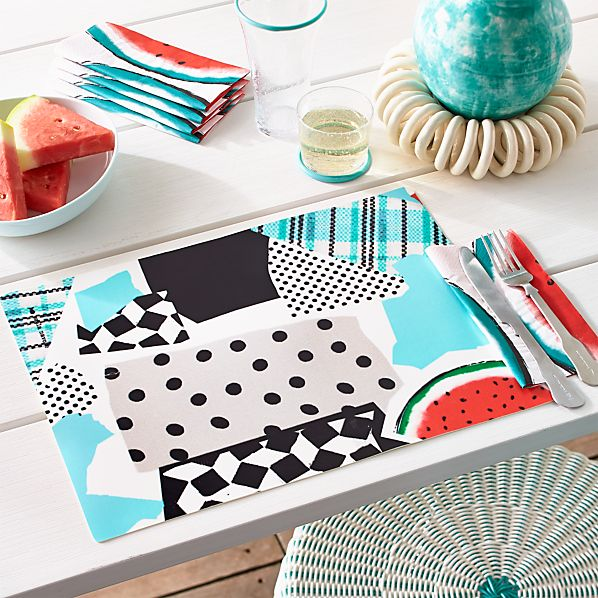 Party Collage Placemat