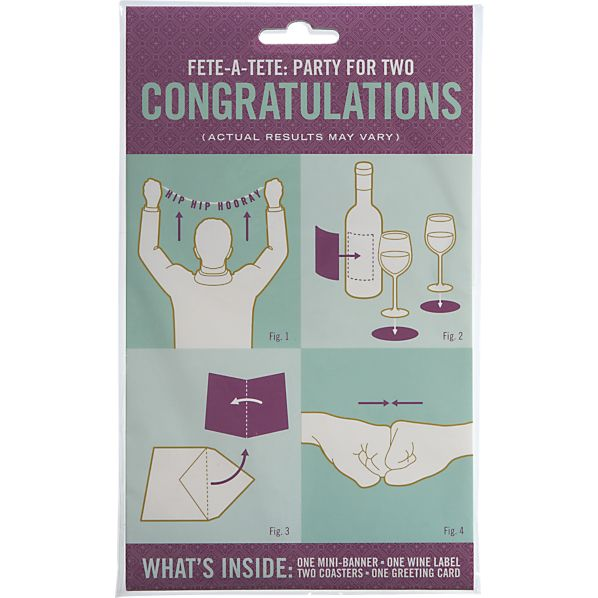 Congratulations Party for Two