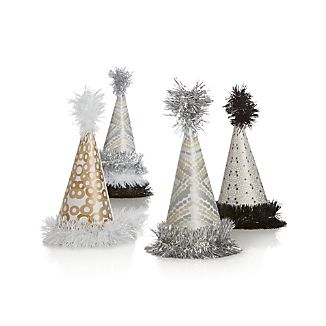 Set of 6 Party Hats