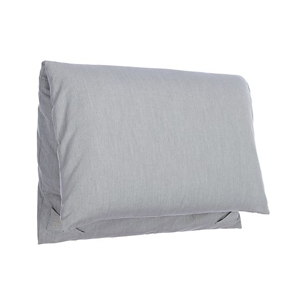 Party Graphite Backrest Cushion