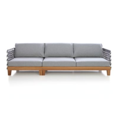 Party Sofa with Webbing Arms