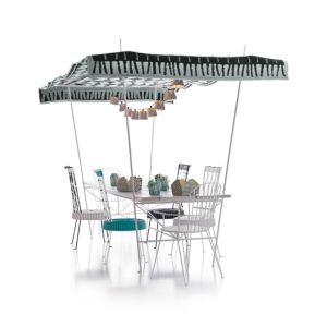 Party Large Dining Table with Canopy