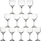Set of 12 wine glasses. 10.5 oz.