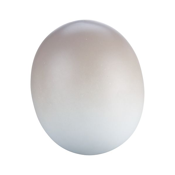 Pastel Taupe Egg