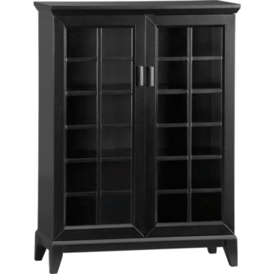 Paterson Black 36.5 Two Door Cabinet
