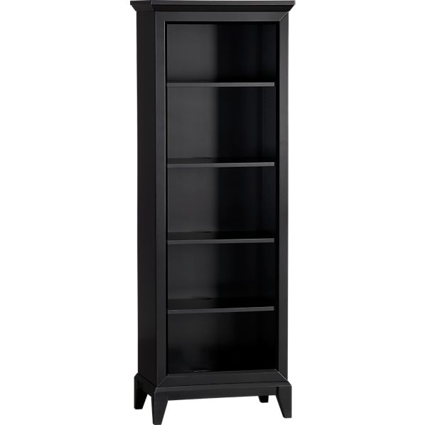 Paterson Black Bookcase