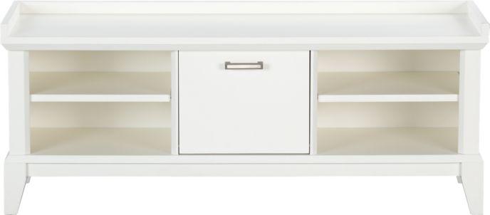 Ottoman, Storage Bench & Entryway Bench Shopping: Adjustable Shelf ...